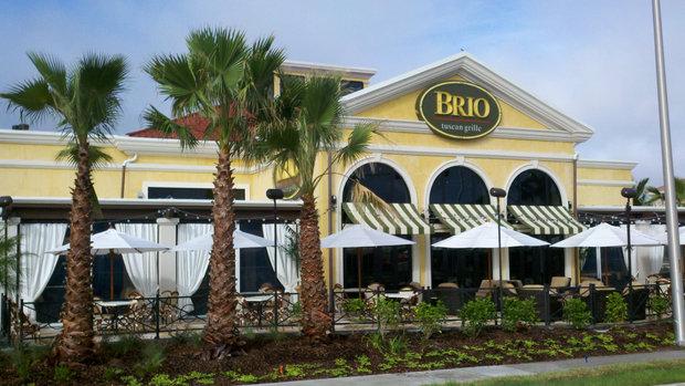 Brio Restaurant Sarasota Menu
